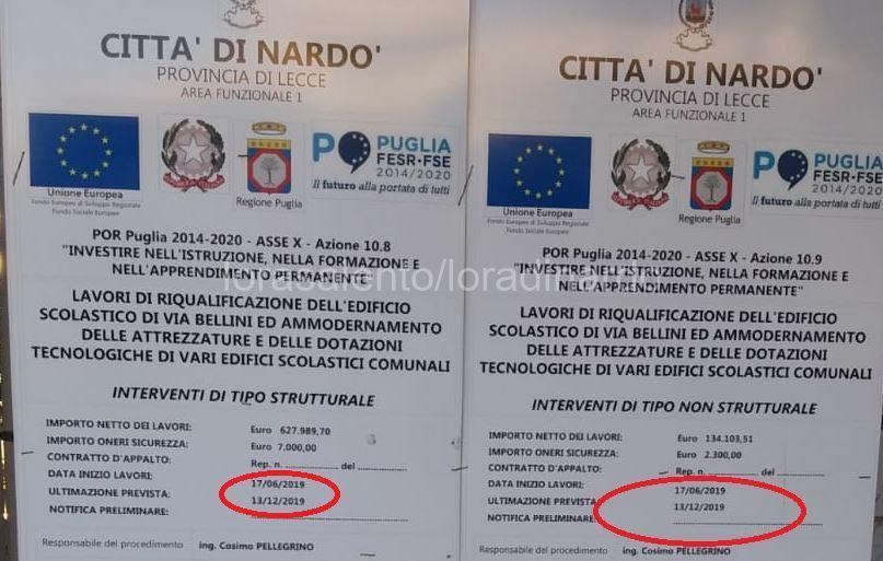 scuola-via-Bellini-Nardò-cartello1