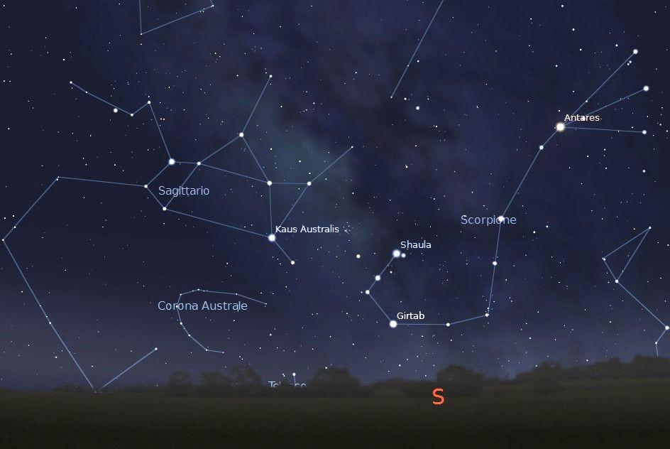 Astronomia il cielo estivo - Toro e sagittario a letto ...