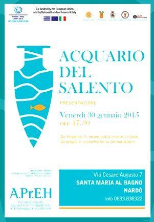 Inaugurazione museo acquario di santa maria al bagno - Museo della memoria santa maria al bagno ...