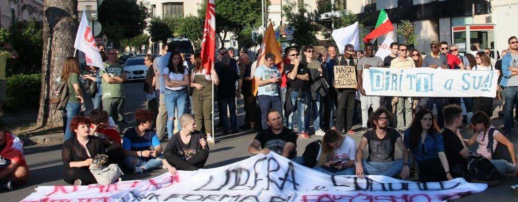 """Manifestazione nazionale antifasacita a Nardò. La sinistra cittadina """"snobba"""" l'appuntamento-video"""