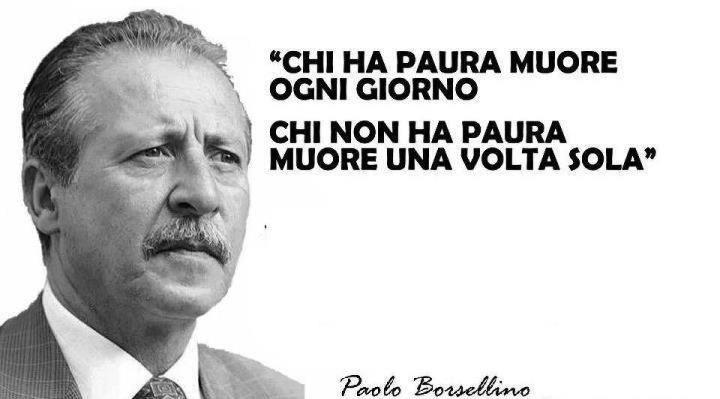 19 luglio 1992 -2021 : Il Presidente Mattarella nel 29° Anniversario della strage di Via D'Amelio