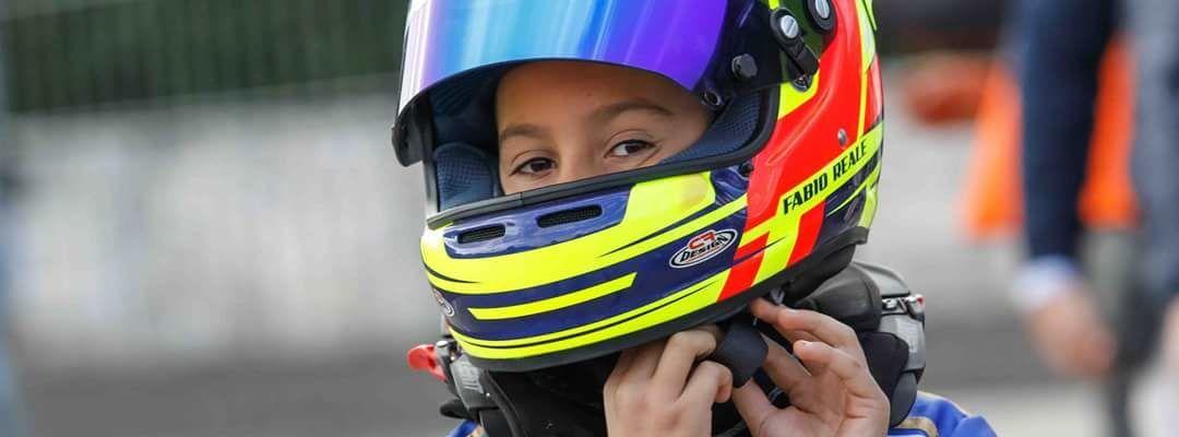 Il neretino Fabio Reale campione regionale di kart classe 60 mini. Un pilota in erba dalle grandi potenzialità …