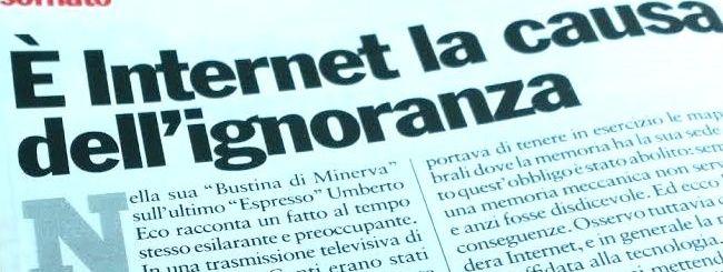 Il Punto: La selva oscura di Internet