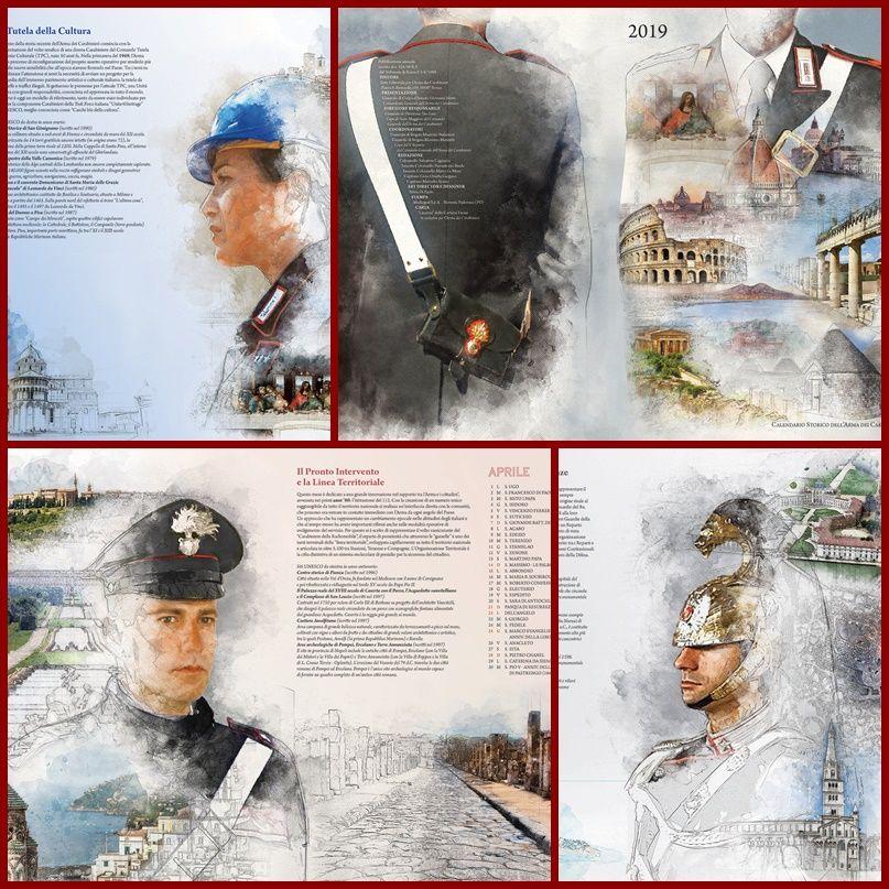 Calendario Storico Carabinieri 2019.Presentazione Del Calendario Storico Dell Arma Dei