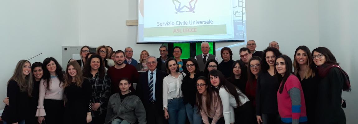 Parte il progetto di Servizio Civile della ASL Lecce:  un anno di volontariato in Sanità per 25 giovani