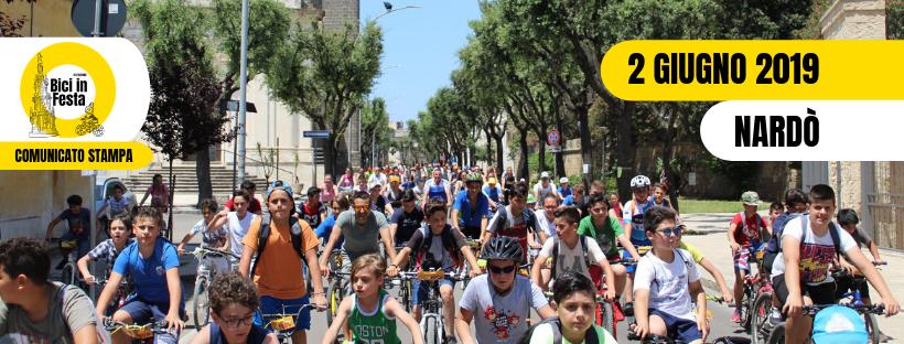 Bici in Festa 2019 si svela: nuovo logo per l'evento di Nardò