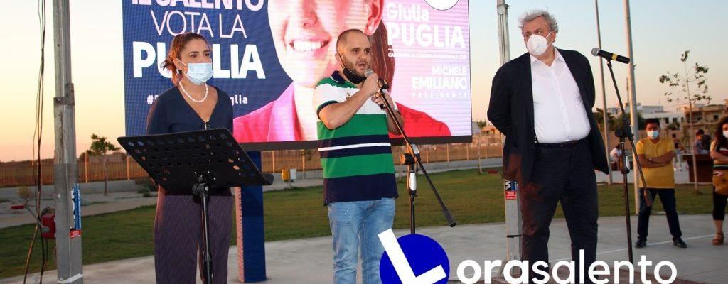 Regionali 2020  Tutti gli interventi del 13 settembre a Nardò per Emiliano presidente –video
