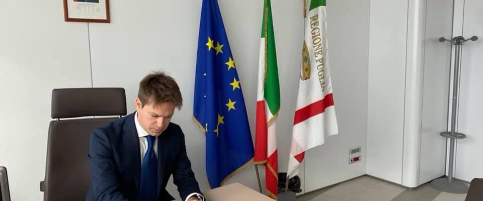 Regione Puglia : Il neritino pentastellato Casili ai vertici del governo Emiliano bis