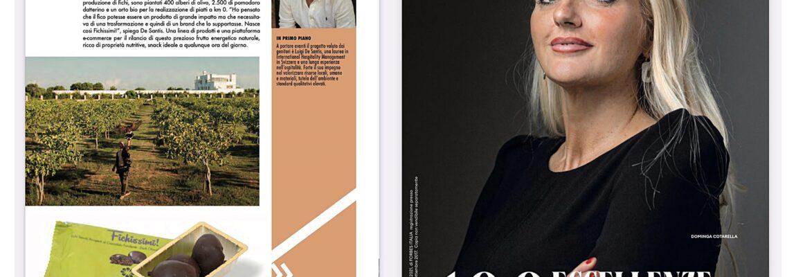 Furnirussi e il ficheto più grande d'Europa tra le 100 eccellenze italiane stilate da Forbes