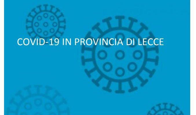 Covid-19: il report del 5 marzo dell'ASL Lecce.